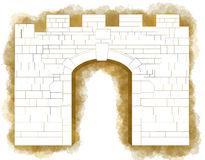 New Gate, Jerusalem Editorial Photo.