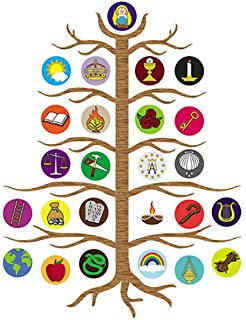 Jesse Tree Kit (Revised): Lynn Simms, Betsy Walker: 9780819839862.