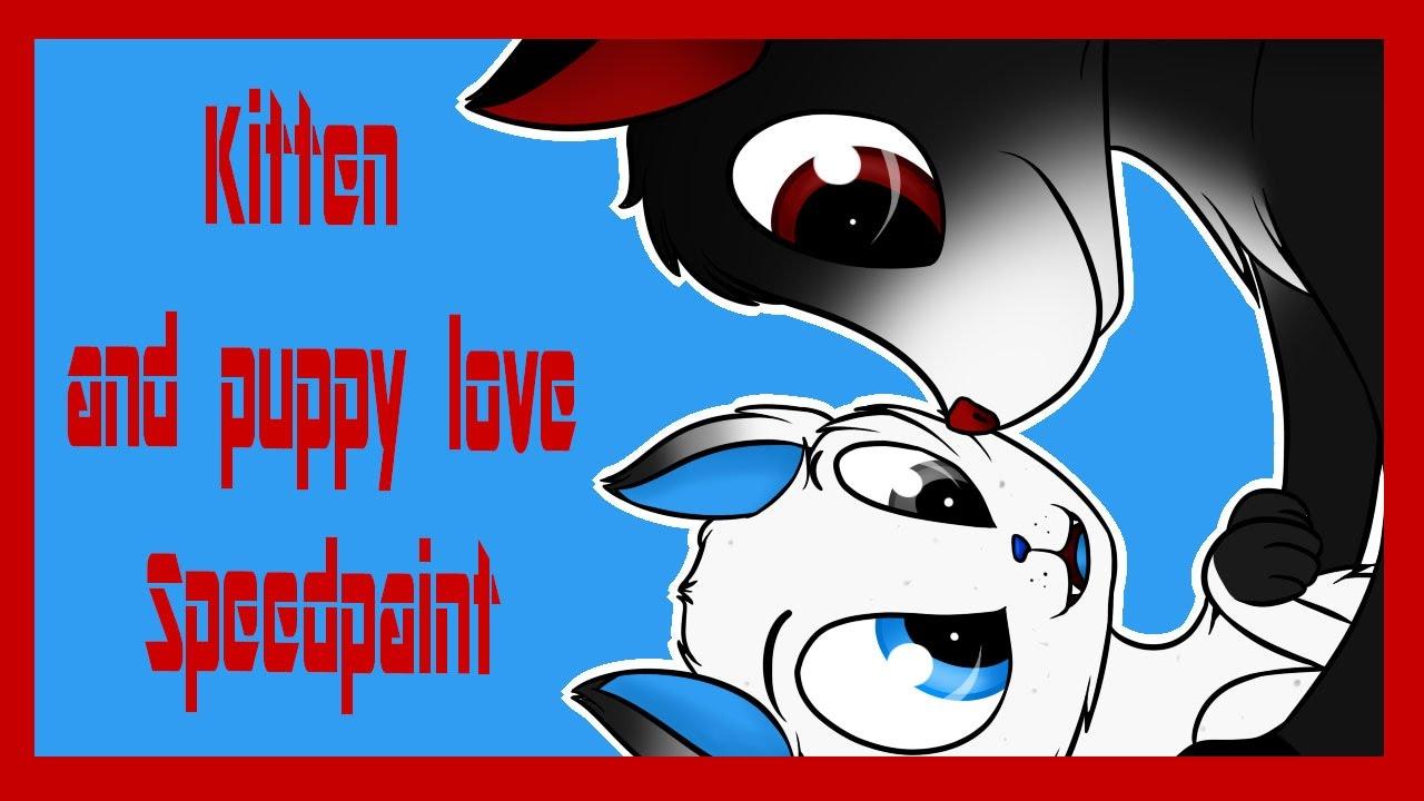 KITTEN AND PUPPY LOVE[ ERICKA JESSEL ].