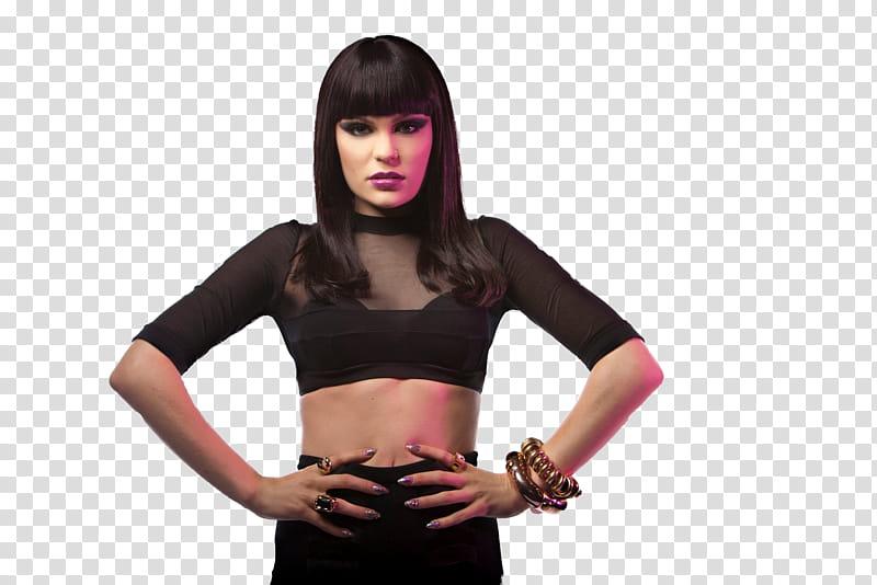 Jessie J transparent background PNG clipart.