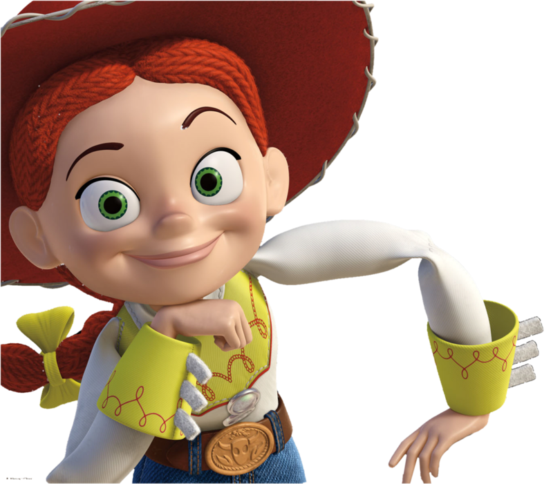 Download Free png Image Jessie from toy story.