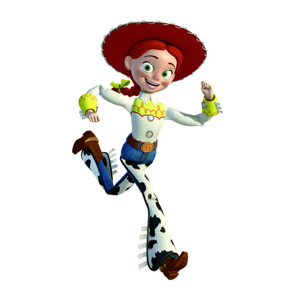 RoomMates 5 in. x 19 in. Toy Story Jessie Peel and Stick.