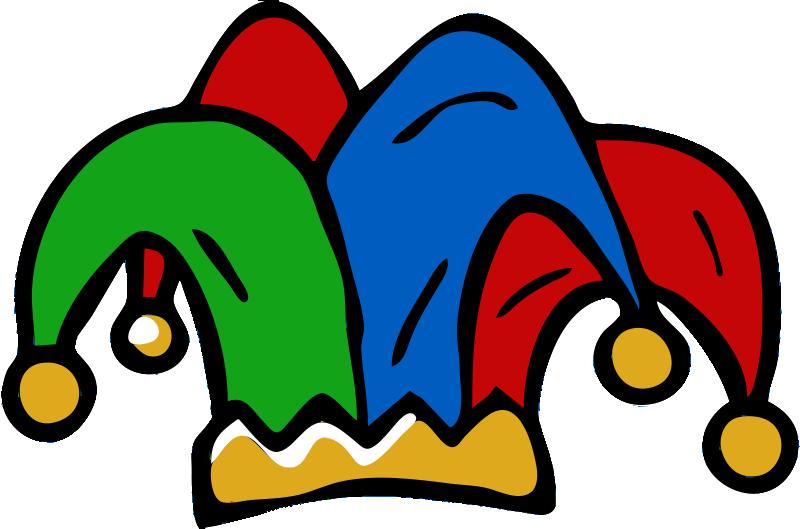 Free Jester Hat Clip Art.
