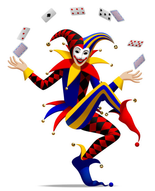Best Jester Mask Illustrations, Royalty.