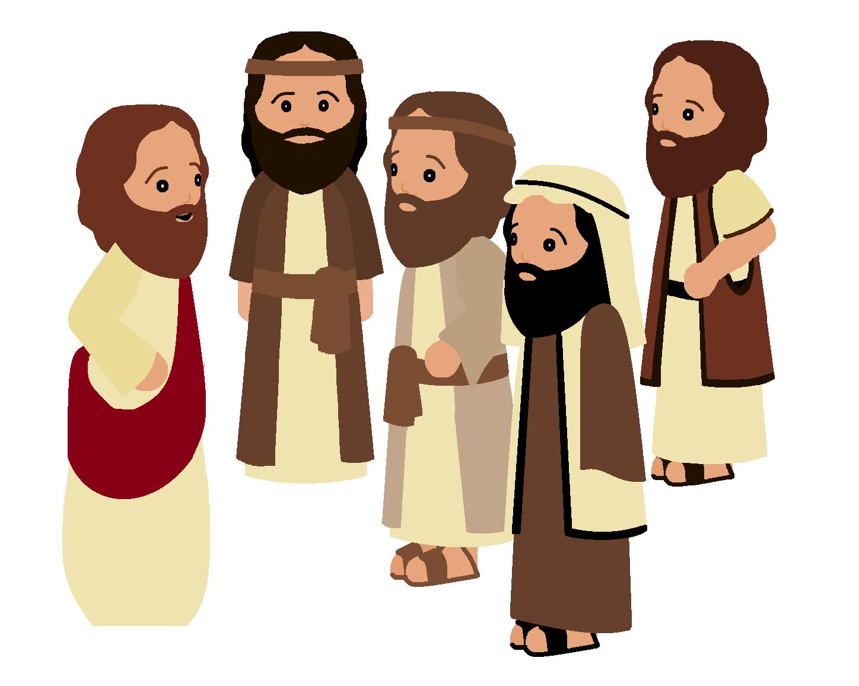 Jesus Teaching Clip Art.
