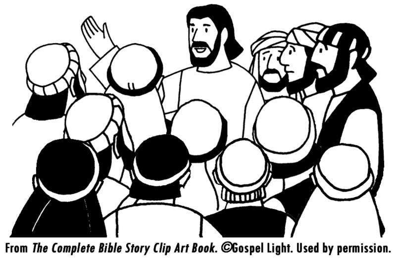 Download Free png Jesus And Disciples Clipart D.