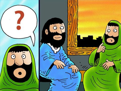 Jesus Met Nicodemus.