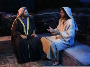 Jesus And Nicodemus Clipart.