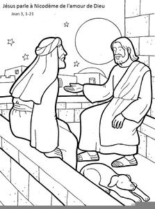 Nicodemus And Clipart.