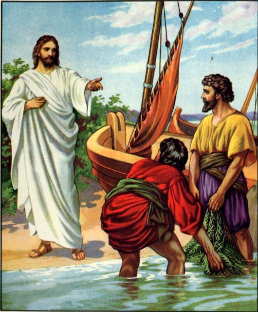 Bible Clip Art: Jesus' Ministry Miscellaneous Part 1 (18 Pictures).