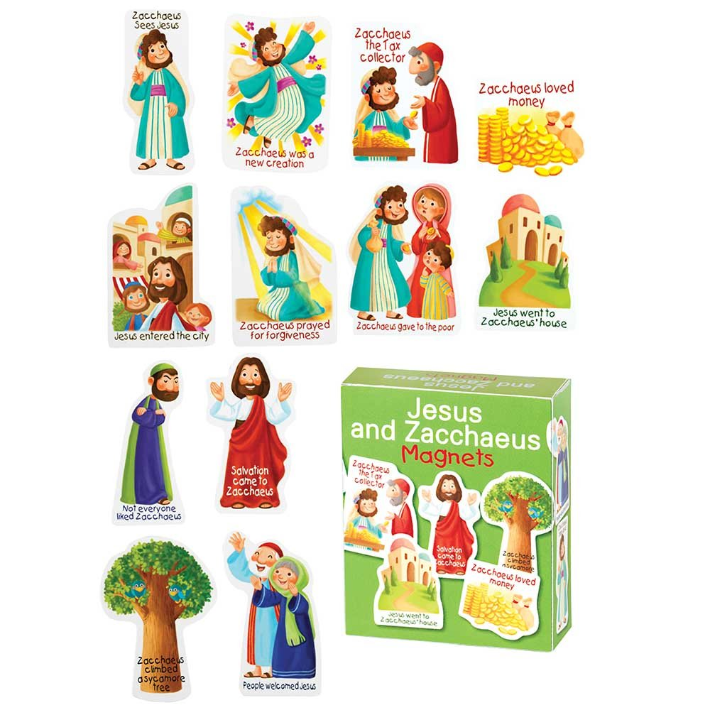 Amazon.com: Dicksons Zacchaeus And Jesus 4 x 3 inch Vinyl.