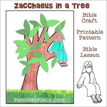 17 Best Ideas About Zacchaeus Craft On Pinterest