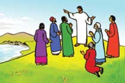 Jesus Disciples Clipart.