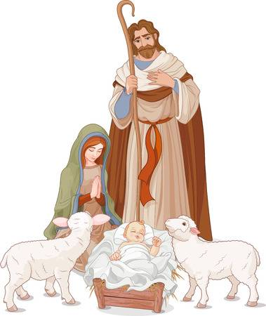 4,488 Jesus Birth Stock Illustrations, Cliparts And Royalty Free.