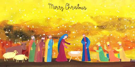 4,488 Birth Of Jesus Stock Illustrations, Cliparts And Royalty Free.