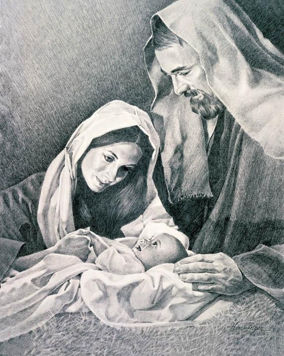 Jesus Birth Clipart Lds.