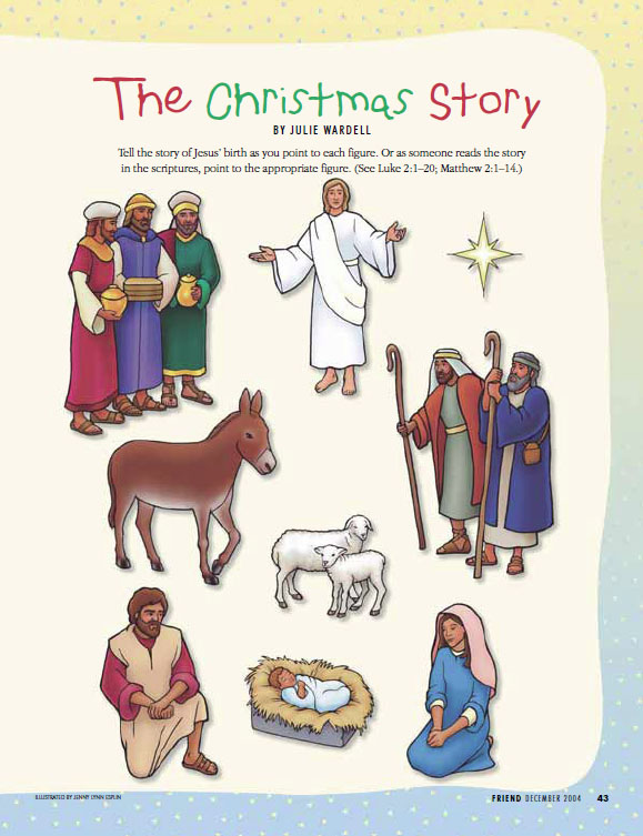 jesus birth clipart lds - Clipground