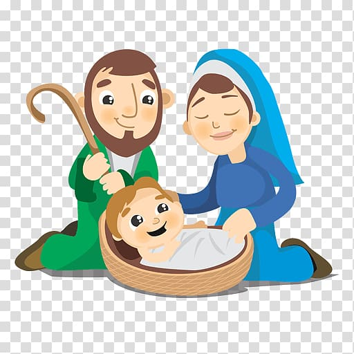 Nativity of Jesus Child Jesus, Birth transparent background PNG.