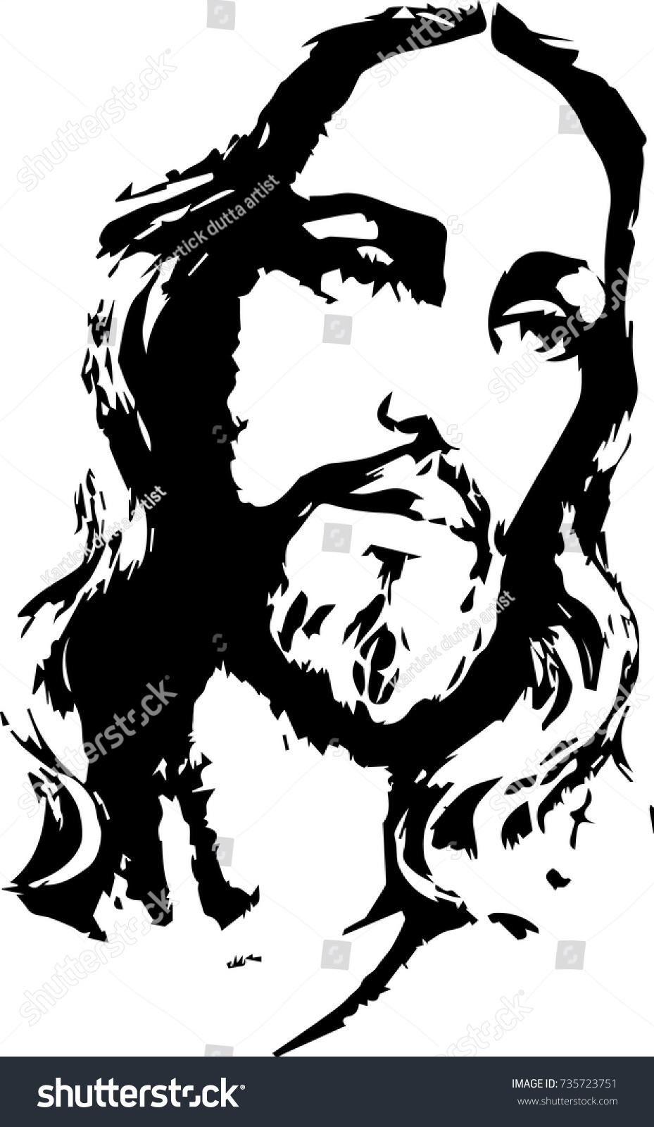 Jesus Black And White Clipart (99+ images in Collection) Page 1.