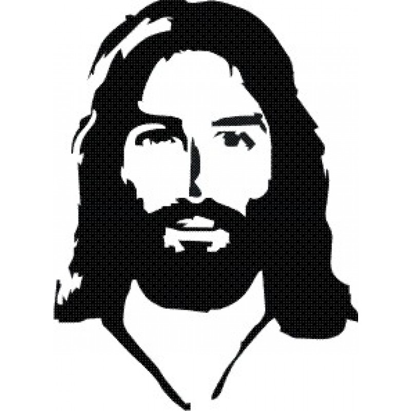 Free Black And White Picture Of Jesus, Download Free Clip Art, Free.
