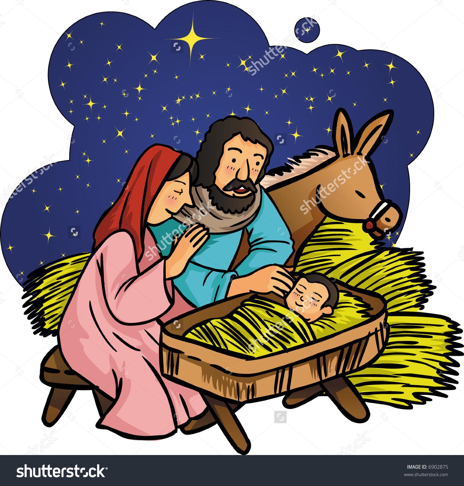 Jesus born clipart 2 » Clipart Station.