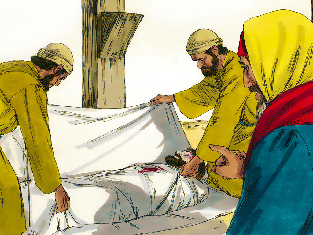 FreeBibleimages :: Jesus is crucified and dies :: Jesus is crucified.