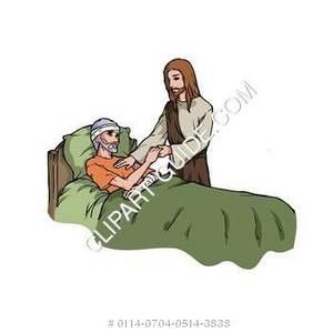 Jesus Healing.