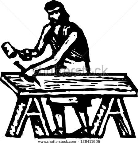 Similiar Joseph The Carpenter Clip Art Keywords.