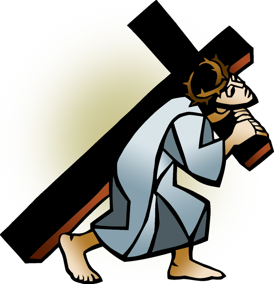 Download jesus carrying cross clipart Christian cross Clip art.