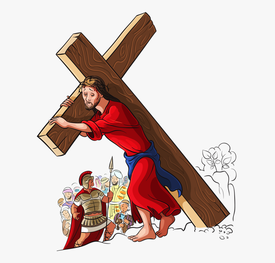 Of Photography Cross Illustration Jesus Carry The.