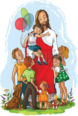 2,128 Jesus Children Cliparts, Stock Vector And Royalty Free Jesus.