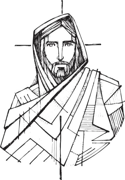 Jesus christ clipart black and white 5 » Clipart Station.