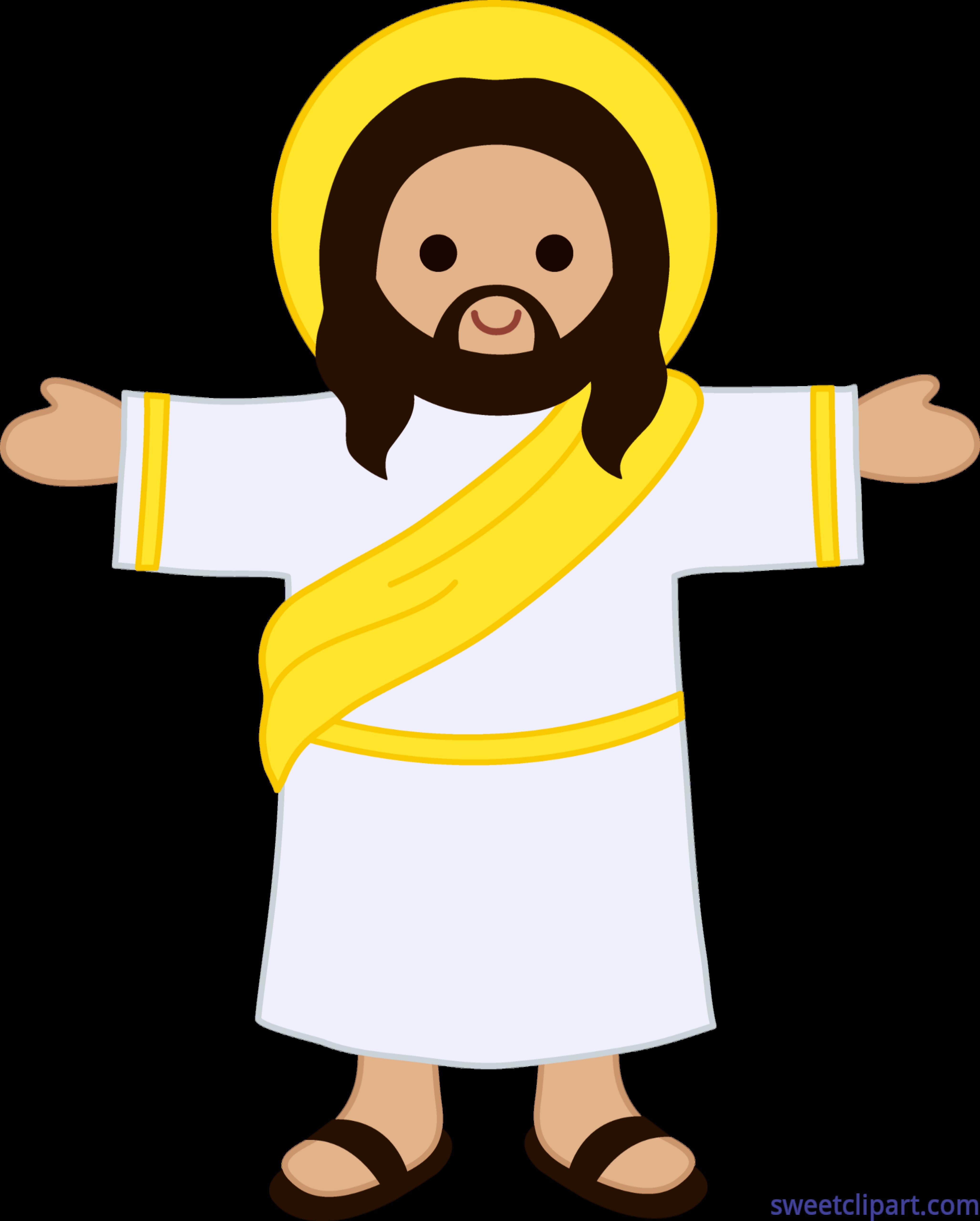 Cute Jesus Christ Clip Art.