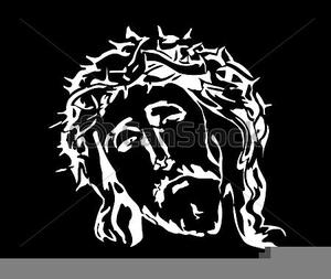 Jesus Christ Clipart Black And White.