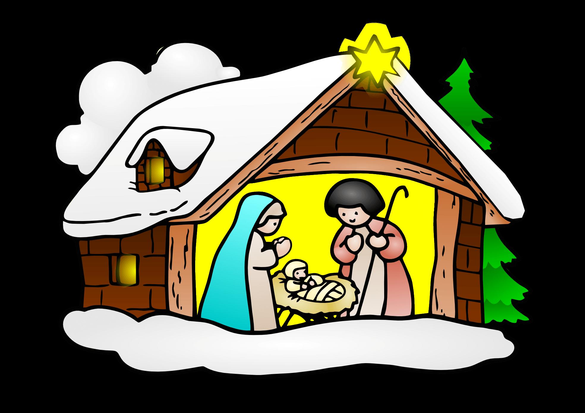 Jesus Christmas Cliparts.