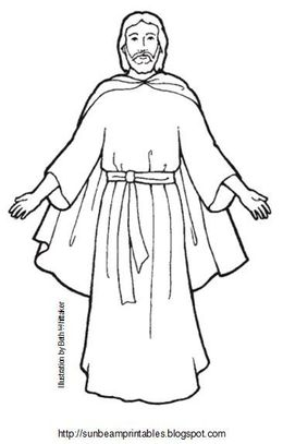 Download black and white lds jesus clipart Primarily Speaking: LDS.