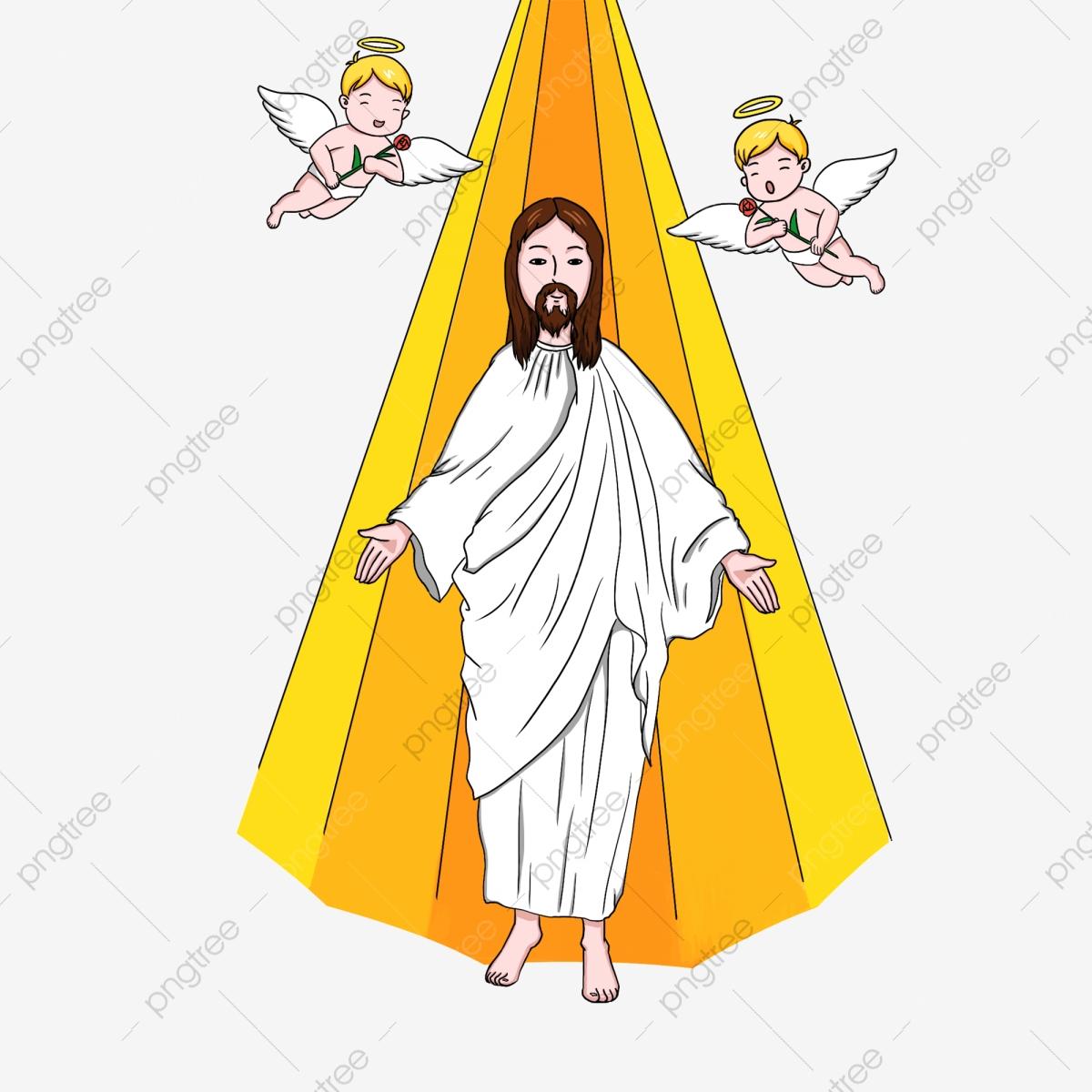Jesus Illustration, Jesus Clipart, Christian, Jesus PNG Transparent.