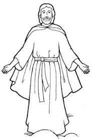 jesus clipart black and white.