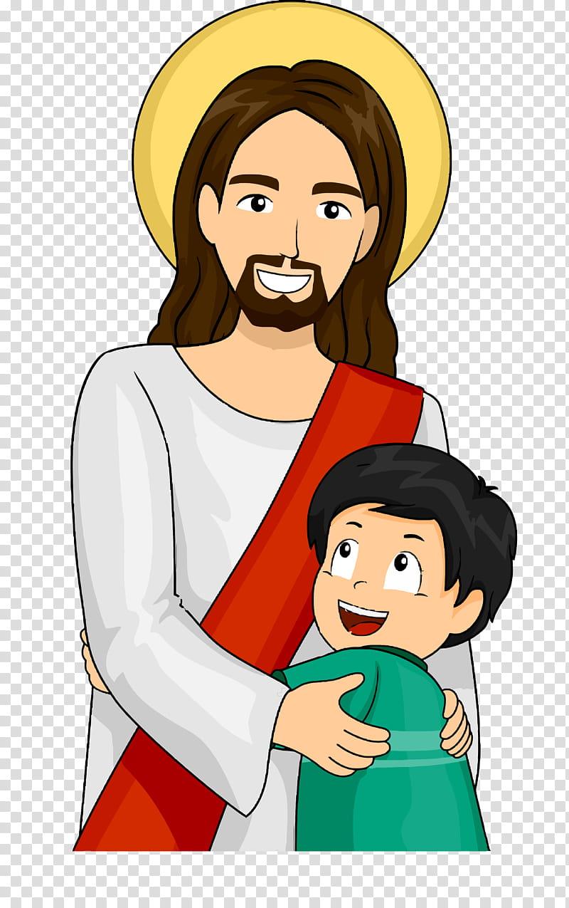 Jesus transparent background PNG clipart.