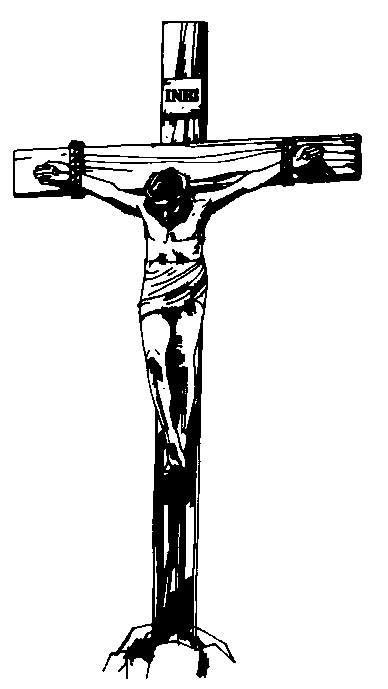 Jesus Clip Art Black And White.