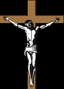 Cross jesus clipart.