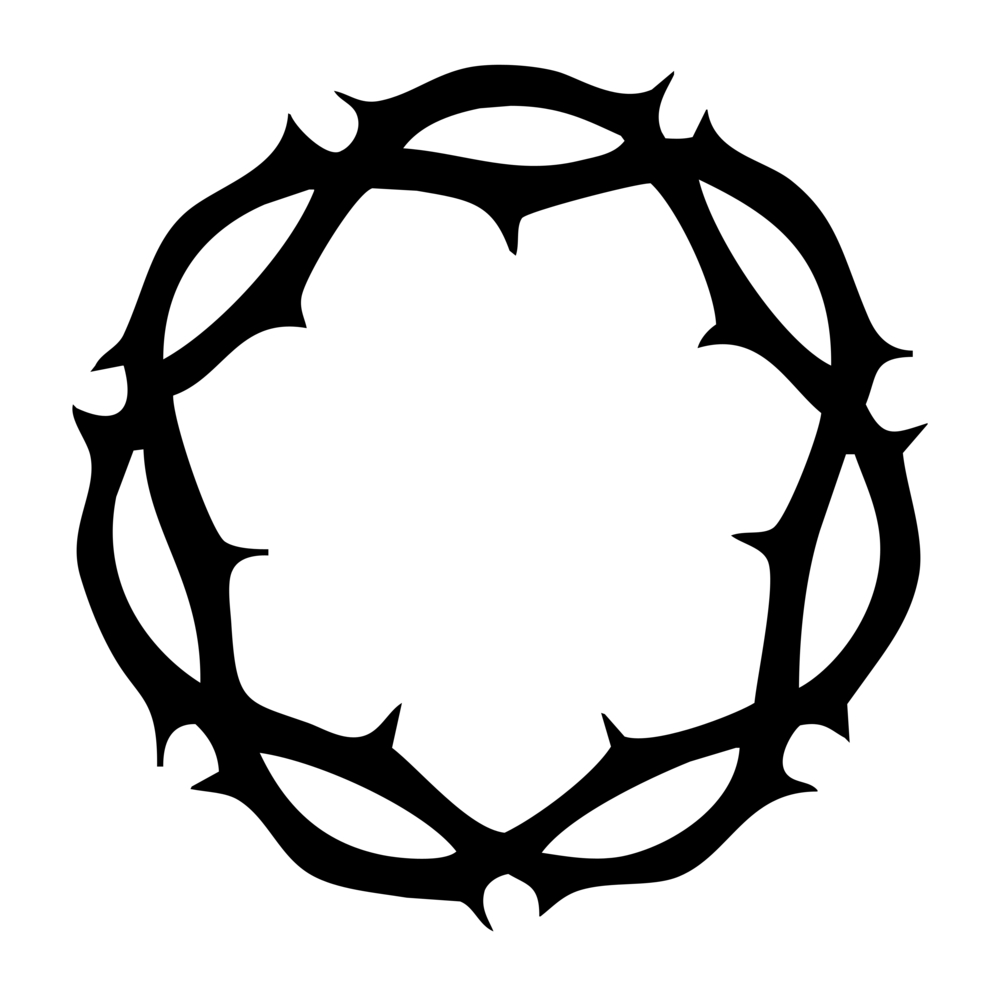 Jesus Crown Of Thorns Free Clipart.