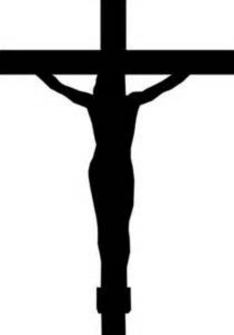 Jesus crucified.