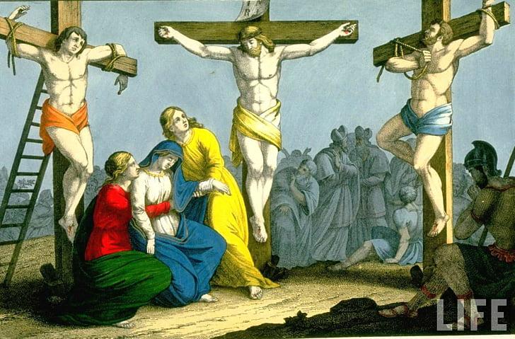 New Testament Bible Crucifixion of Jesus , jesus christ PNG.