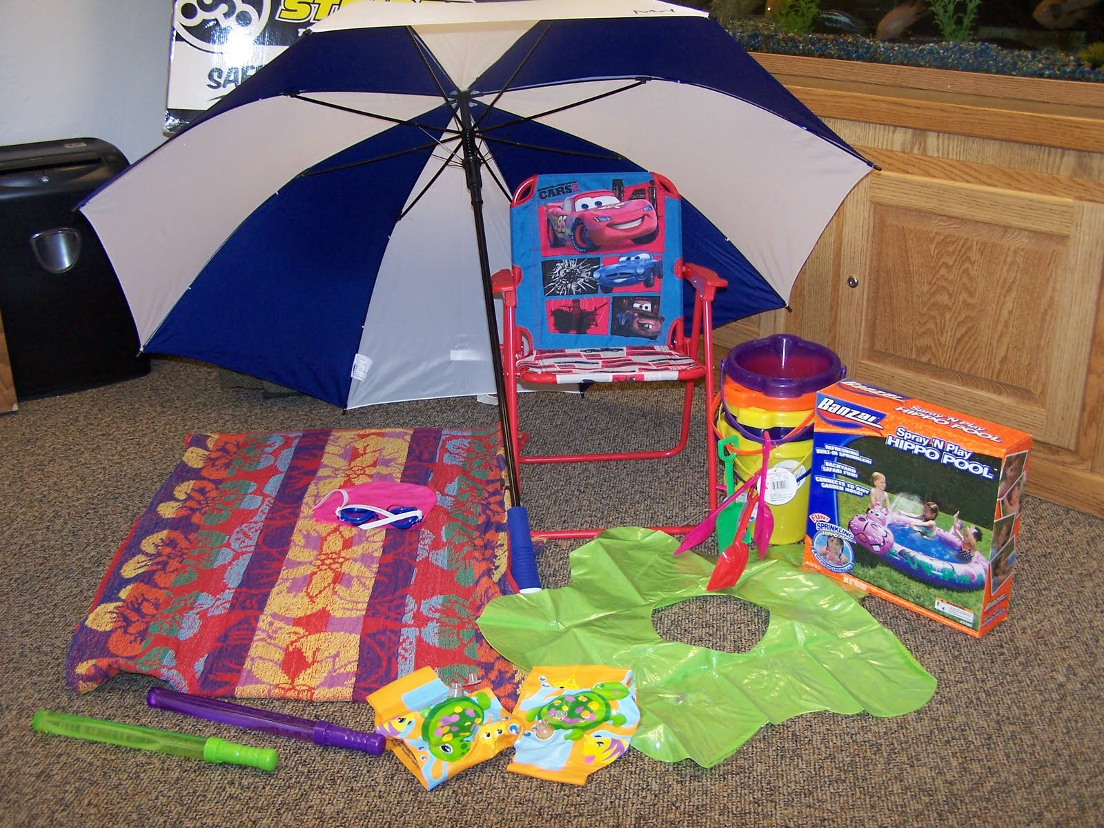 A perfect Under The Sea themed dramatic play center for.