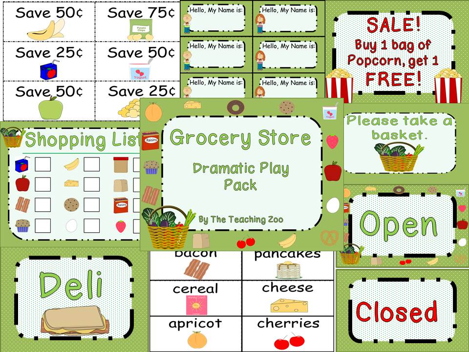 17 Best images about Preschool Dramatic Play! on Pinterest.