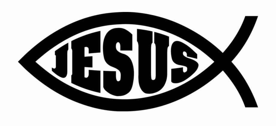 Fish With Jesus Logo.