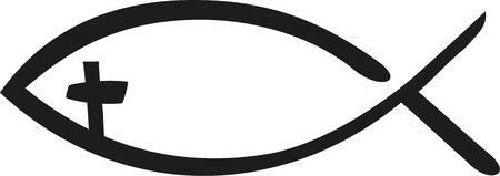 Christian Fish Symbol Clipart.