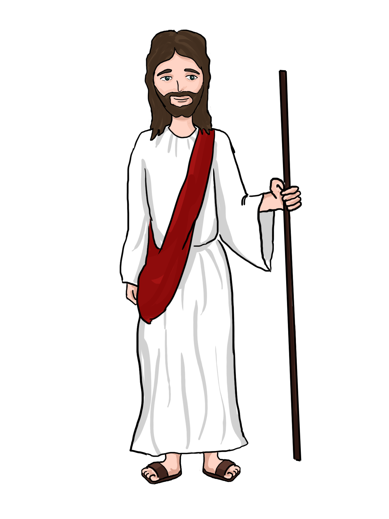 Free Cartoon Jesus, Download Free Clip Art, Free Clip Art on.