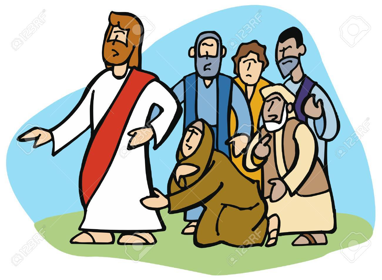 Clipart jesus healing the sick 4 » Clipart Portal.